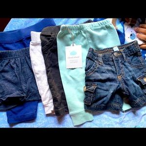 Baby pants/shorts and Bonus price with purchase